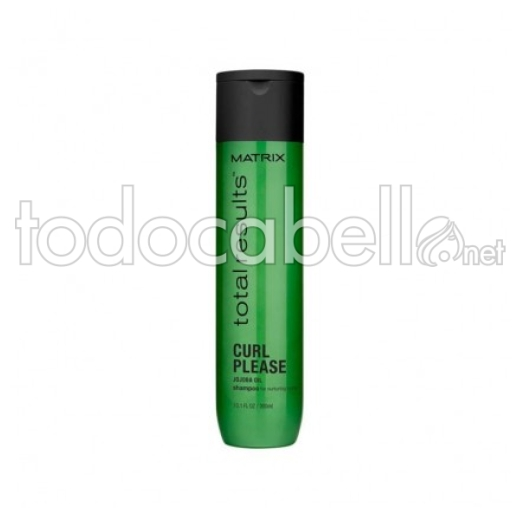 Matrix Total Results Shampooing Curl Please. Cheveux bouclés 300ml