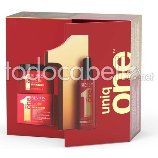 Pack Revlon Uniq One Super10R Mask + Treatment 150ml