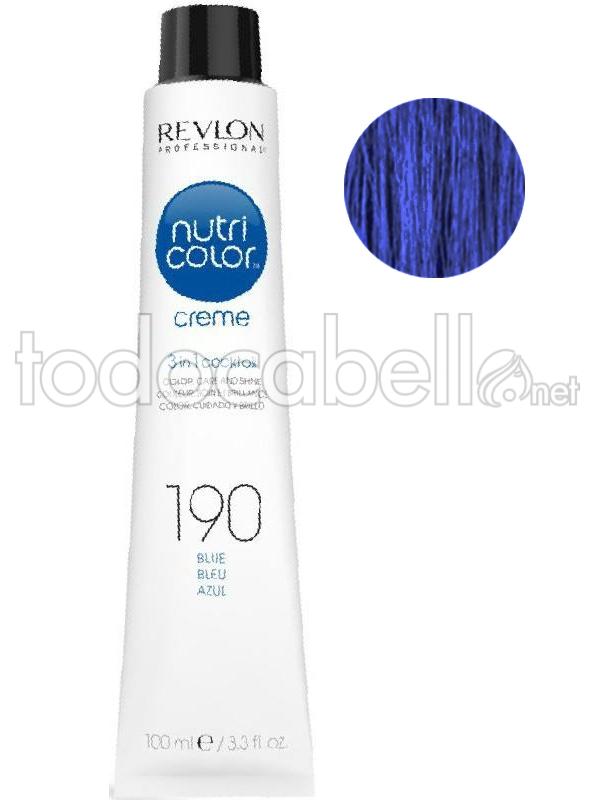 Revlon Nutri Color Creme 190 Blue 100 Ml